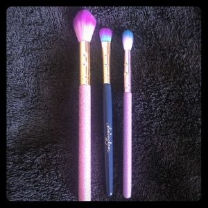 SLMissGlam Set of 3 Makeup Brushes Eyeshadow Glam